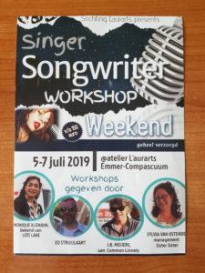 folder singer songwriter weekend